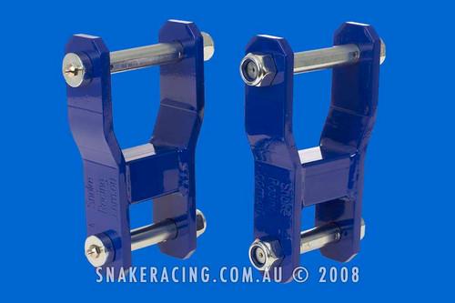 PX Ranger 2012 on Extended Shackles REAR
