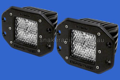 Dually Twin LED Lights Flush Mount - Diffusion