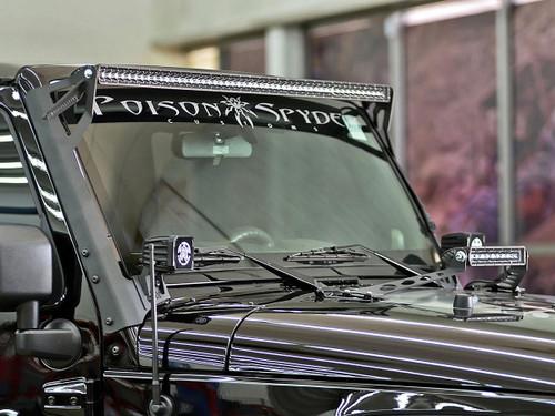 "JK Jeep 50"" LED A Pillar Roof Mount Kit"