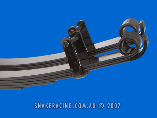 "Navara D22 X-Flex 2"" Rear Leaf Springs"
