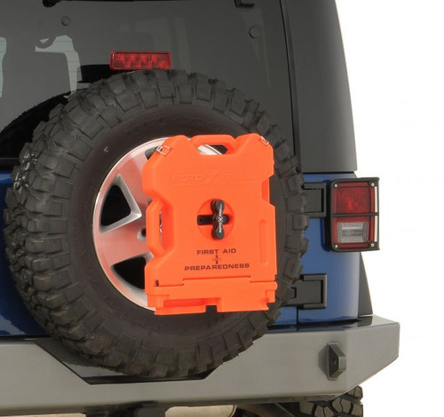 RotopaX Orange 7.5L - First Aid Storage