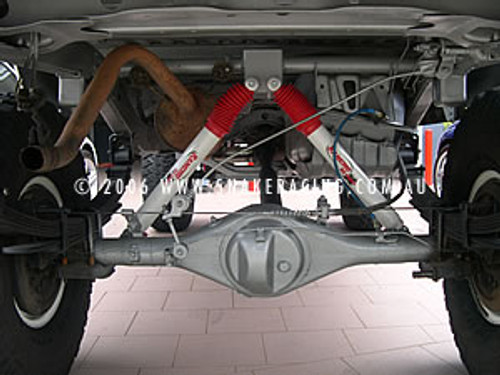 Inverted Rear Shock Kit