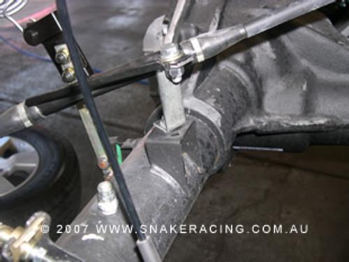 Navara D40 Rear Hand Brake Bracket Kit