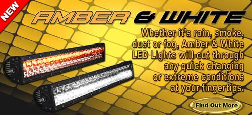 "20"" E Series LED Amber/White Combo"