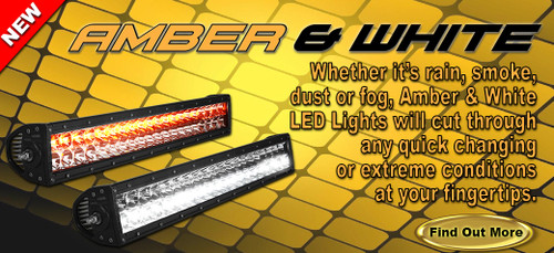 "40"" E Series LED Amber/White - Combo"