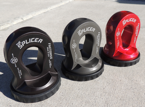 The Splicer - BLACK - Recovery Winch Hook