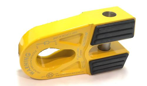Yellow - Expert FlatLink E Winch Recovery Hook