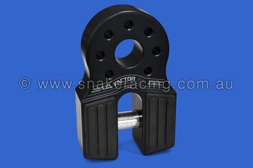 Black FlatLink Winch Recovery Hook