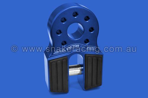 Blue FlatLink Winch Recovery Hook