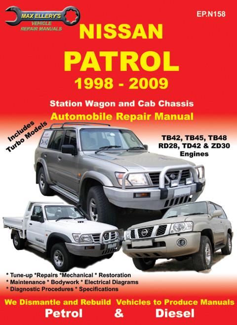 GU Patrol Service Manual - Snake Racing