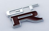Nismo Heritage - Emblem - Rear, GT-R (326) - 84896-RHR27 (84896-05U10) - BNR32 Nissan Skyline GT-R