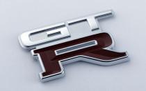 Nismo Heritage - Emblem - Rear, GT-R (KL0) - 84896-RHR28 (84896-05U11) - BNR32 Nissan Skyline GT-R