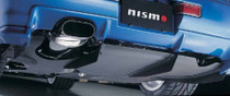 Nismo GT Diffuser Fin Set - BNR34 Nissan Skyline GT-R - 748A2-RNR45