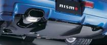 Nismo GT Diffuser Fin Set, Fitting Kit - BNR34 Nissan Skyline GT-R - 748A2-RNR45-Z