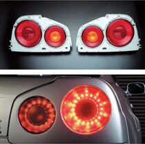 Nismo GT LED Tail Lamp Set - BNR34 Nissan Skyline GT-R - 26550-RNR45