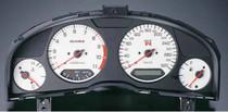 Nismo Combination Meter - White - BNR34 Nissan Skyline GT-R - 254810-RNR45-WH