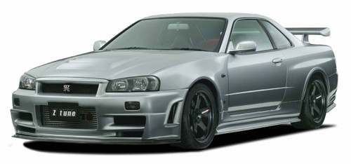 Nismo Z-tune Front Bumper Spoiler Fitting Kit - BNR34 Nissan Skyline GT-R - 62020-RSR46-Z0