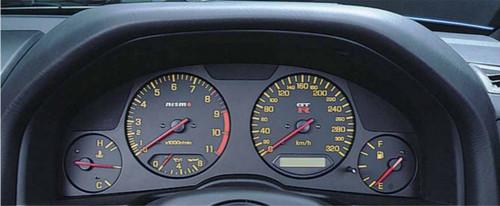 Nismo Combination Meter - Black - BNR34 Nissan Skyline GT-R - 24810-RNR45