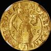 MS63 1585 TRANSYLVANIA Sigismund Bathori Gold Ducat, Hermannstadt Mint.