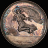 SP64 1890 German East Africa Takeover Silver Medal - Toned and only one graded by PCGS