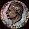 SP60 1914 Germany Zetzmann-2014 Silver Medal beautiful toning
