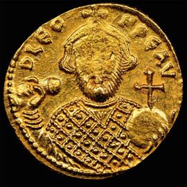 MS Byzantine 695-698 Leontius AV solidus