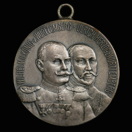 SP62 1901 Germany Wurttemberg silver shooting medal