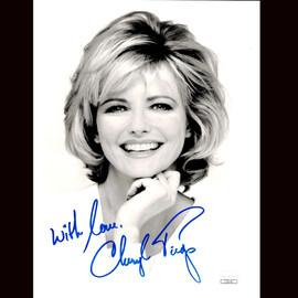 Certified Cheryl Tiegs Signed 8X10 Photo Actress Model Autograph COA #1