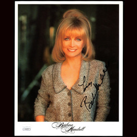 Certified Barbara Mandrell signed 8X10 Photo Singer Entertainer Autograph