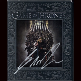 """Certified George R.R. Martin Signed """"Game of Thrones"""" First Season DVD"""