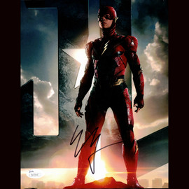 Certified Ezra Miller The Flash Signed 8x10 Photo Authentic Autographed