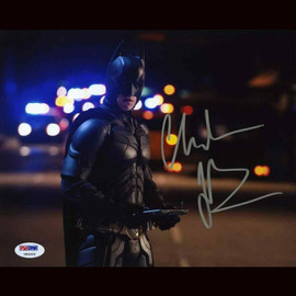 Certified Christian Bale The Dark Knight Batman Autographed Signed 8x10