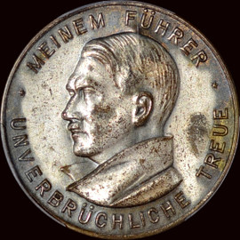 SP62 1934 Germany Third Reich Colbert C-63 Uniface Pinback Medal