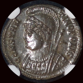 MS  (ca. AD 330-340) Roman Empire Constantinople Commemorative. AE3 or BI nummus (17mm, 12h)