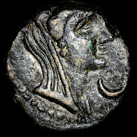 XF AD 1st-2nd centuries Greek PHOENICIA Sidon Pseudo-autonomous issues AE (14mm, 12h)
