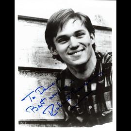 Richard Thomas Autographed / Signed 8x10 B&W Photo Vintage Signature