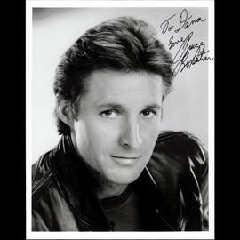 Bruce Boxleitner Autographed / Signed 8x10 B&W Photo Vintage Signature