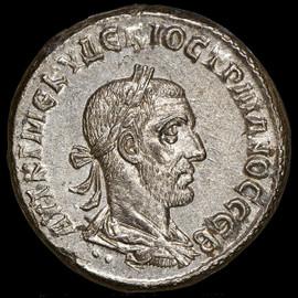 MS 249AD Roman TRAJAN DECIUS Ancient Antioch TETRADRACHM
