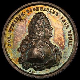 SP64 (ND) Sweden Johan Upmarck Rosenadler Silver Medal (31mm)