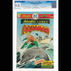 NM/MT 9.8  (DC, 1976) Adventure Comics #443  White pages
