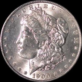 MS63 1900-O Morgan Dollar VAM 15 Doubled Stars - Top 100