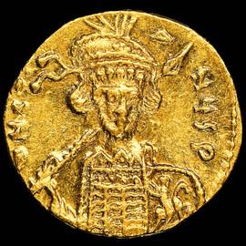 MS 4/5 - 4/5 (AD 668-685) Byzantine Constantine IV Pogonatus AV solidus