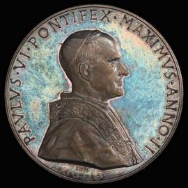 SP64 1964 Vatican City Paul VI  Specimen Medal  Anno II -  Rinaldi-159