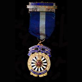 Gilt Metal & Enamel National Association of Round Tables Medal
