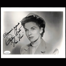 Certified Phyllis Coates Lois Lane Superman Actress  Autographed Signed 8x10 photo