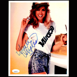 Certified Marla Maples (2nd  wife of the 45th US president Donald Trump) Autographed Signed Full Name  8x10 photo