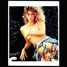 Certified Rachel Hunter Playboy Model Entertainer Autographed Signed 8x10 photo #1