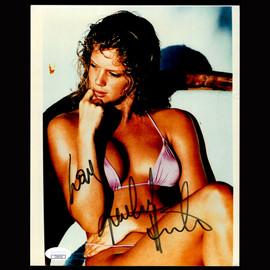 Certified Rachel Hunter Playboy Model Entertainer Autographed Signed 8x10 photo #2