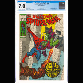 FN/VF 7.0 Off-white to white pages  (Marvel, 1971) The Amazing Spider-Man #97