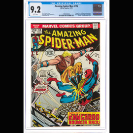 NM- 9.2 White pages  (Marvel, 1973) The Amazing Spider-Man #126